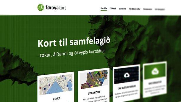 Kort til allar Føroyar